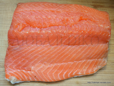 Как засолить лосось