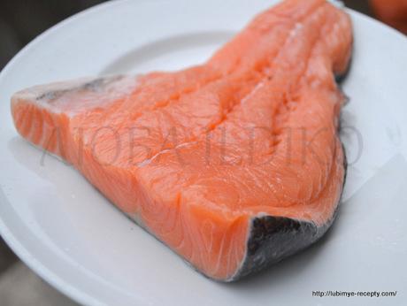 Как засолить лосось1