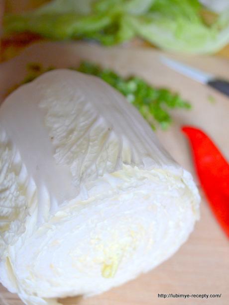 Салат из капусты с перцем 1