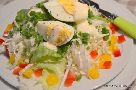 Салат из капусты с перцем 3