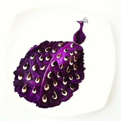 Картинки на тарелках-10