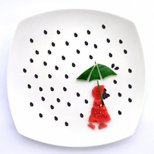 Картинки на тарелках-20