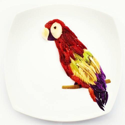 Картинки на тарелках-22
