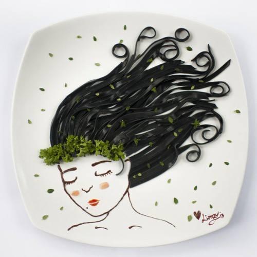 Картинки на тарелках-25