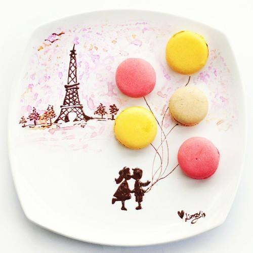 Картинки на тарелках-26