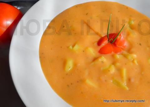 Овощной картофельный суп