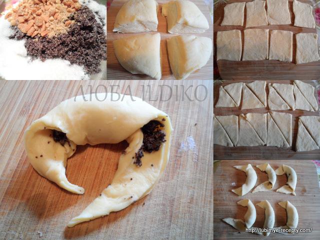 Начинка для рогаликов с начинкой из орехов и мака