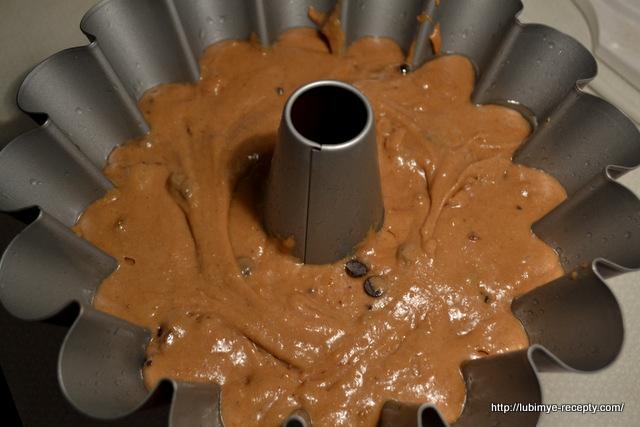 Простой шоколадный кекс3