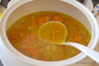 Суп из куриной грудки