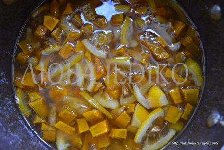 Кабачковое варенье с лимоном1