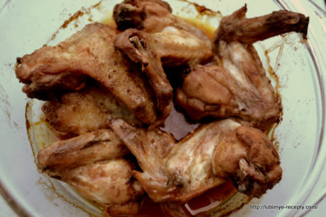 Вкусные куриные крылышки2