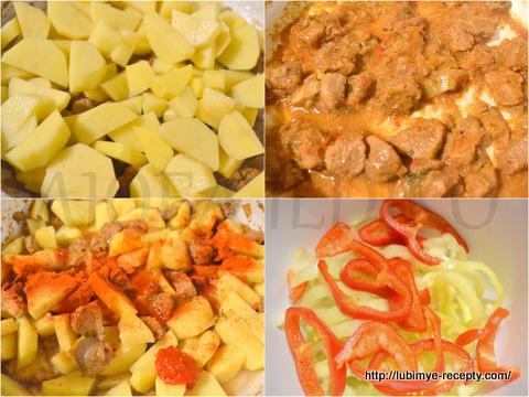 Рецепты тушеного мяса с фото пошагово. тушёное мясо с макаронами