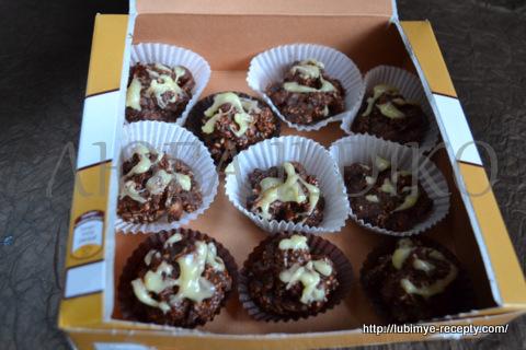 Шоколадные конфеты с орехами5