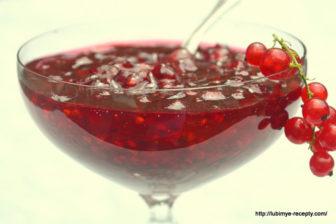 Варенье из красной смородины3